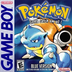 Pokémon Blue Cover