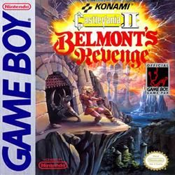 Castlevania II: Belmont's Revenge Cover