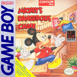 Mickey's Dangerous Chase Cover