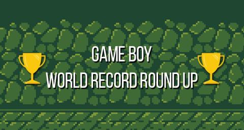 Game Boy World Record Round Up